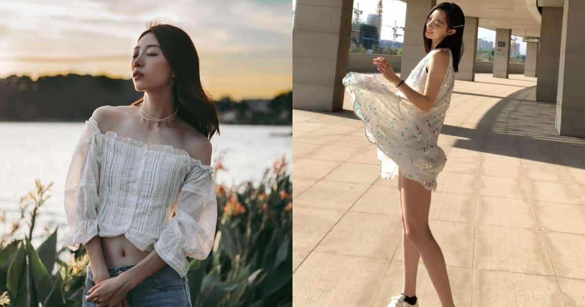 Nhan sắc đời thường đốn tim của nữ thần nhảy cao Trung Quốc - Người đẹp