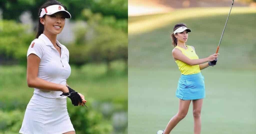 Vẻ đẹp nóng bỏng của nữ golf thủ xứ Trung mọi người đều mê - Người đẹp