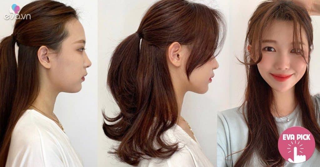 Tóc tai dài thượt vừa nóng vừa già, mách nàng 6 kiểu cột đẹp như minh tinh
