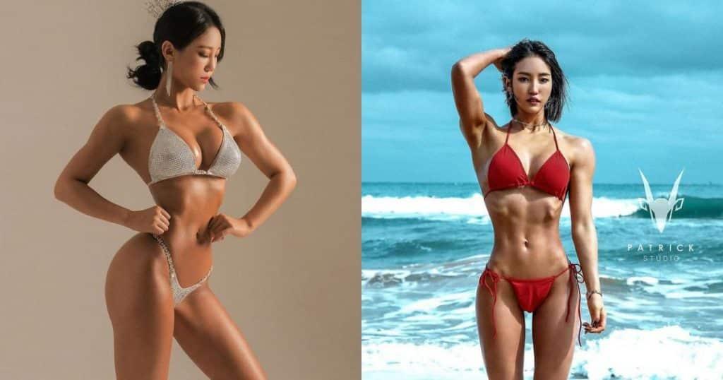 Cô gái có ngoại hình nóng bỏng nhờ tập gym - Người đẹp