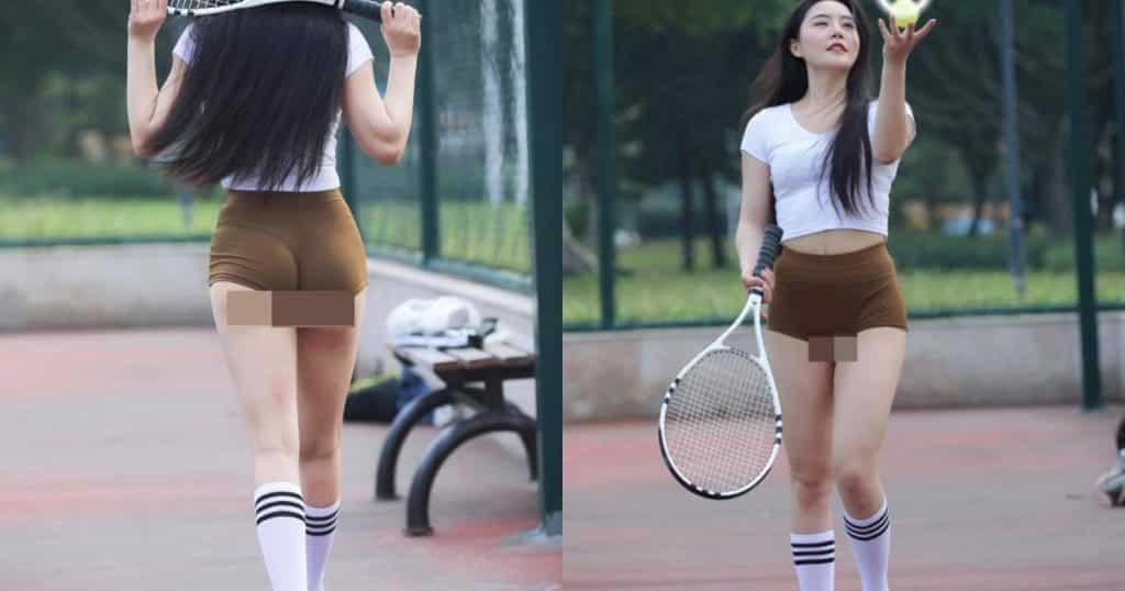 """""""Nhức mắt"""" thời trang thiếu vải của các mỹ nhân trên sân tennis - Người đẹp"""