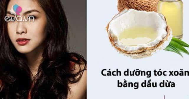 Cách dùng dầu dừa dưỡng tóc mềm mượt óng ả đúng cách tại nhà