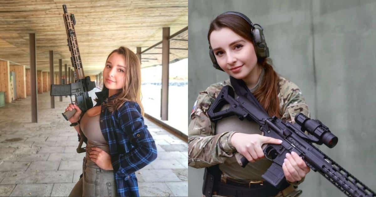 """Soi sắc vóc tựa búp bê sống của """"thiên thần quân đội"""" Nga - Người đẹp"""