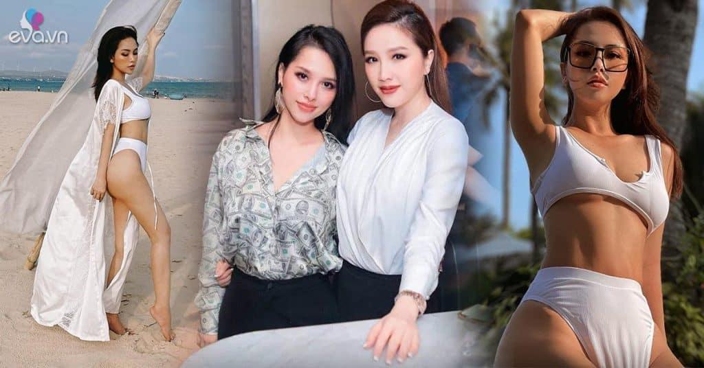 Trang Pilla - chị dâu Bảo Thy khoe dáng 2 con đẹp ngất ngây