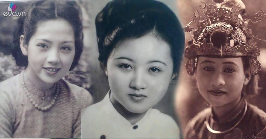 Mê mẩn loạt ảnh phục chế của những mỹ nhân Việt xưa sở hữu vẻ đẹp chuẩn mực