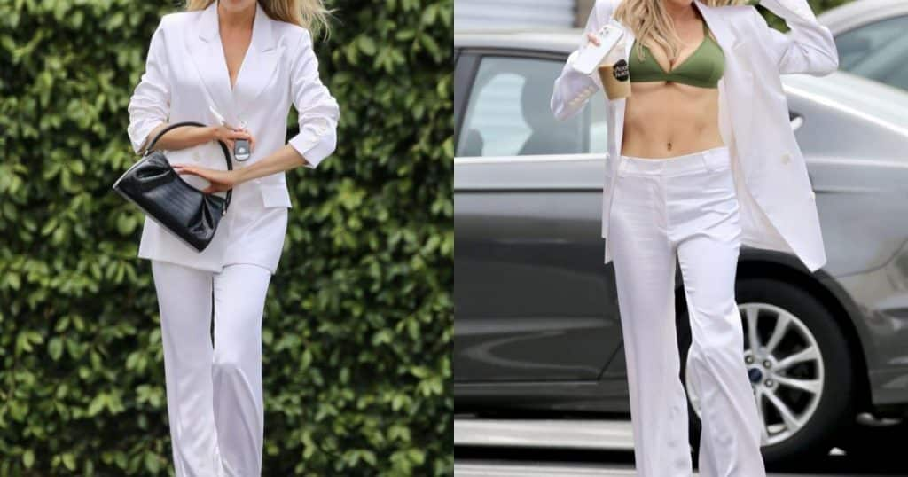Biểu tượng gợi cảm thế hệ mới ở Hollywood khoe ngực đầy bốc lửa - Người đẹp