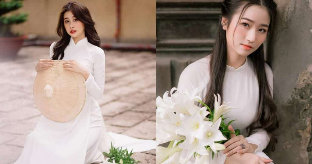Nữ sinh khiến dân mạng ngẩn ngơ khi diện áo dài trắng tinh khôi, khoe vẻ đẹp trong sáng tựa tình đầu - Người đẹp