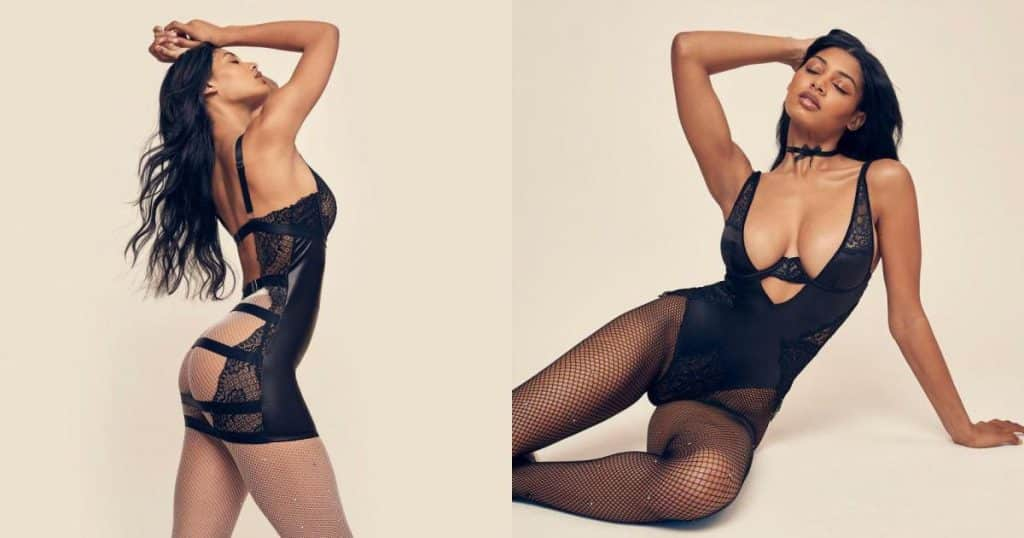 Mẫu 9x Danielle Herrington cực nóng bỏng với nội y - Người đẹp