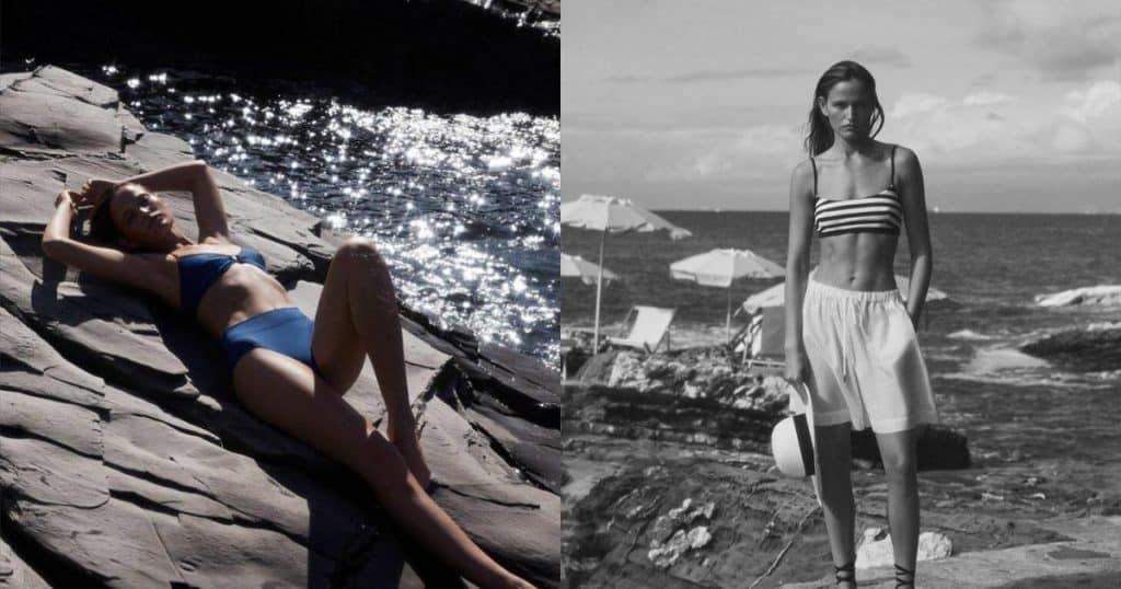 Nàng mẫu Addie Bach khoe dáng nóng bỏng với áo tắm - Người đẹp