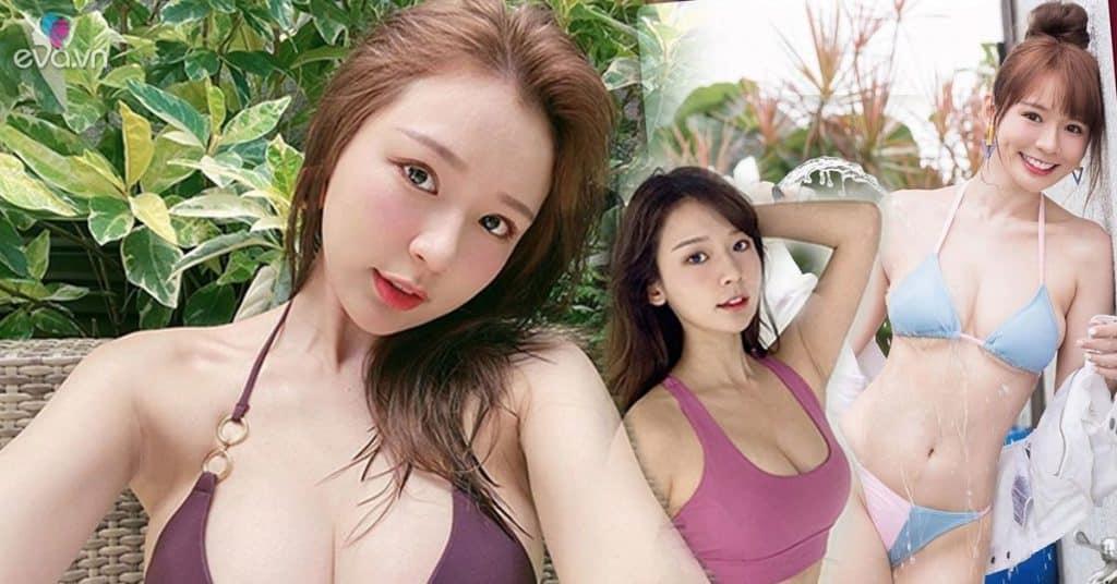 Hot girl xứ Đài có nhan sắc hao hao Yua Mikami, về khoản khoe dáng bạo cũng chẳng kém phần