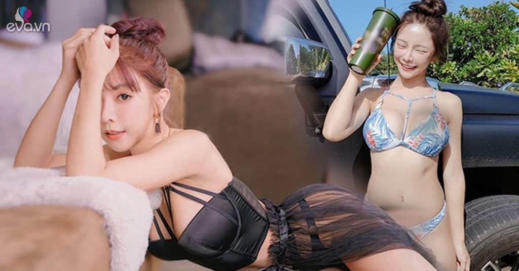 """Hotgirl mê khoe lưng trần trắng muốt cùng thềm ngực căng đầy, CĐM xem hình cứ tha hồ bấm """"like"""""""