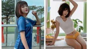 Xinh đẹp, mê bóng đá hot girl fan Chelsea gây sốt CĐM