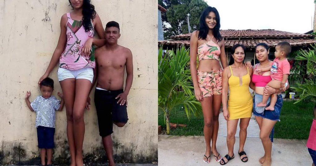 Cận cảnh nữ người mẫu gây sốc với chiều cao hơn 2m - Người đẹp