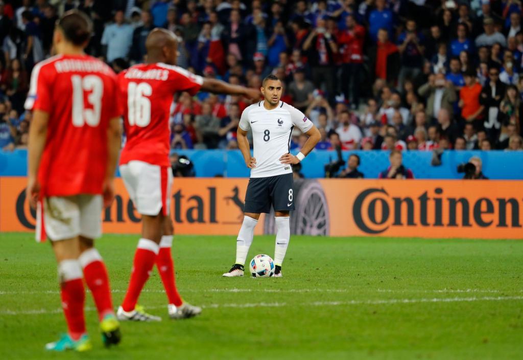Soi kèo hiệp 1 Pháp vs Thụy Sĩ